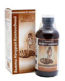 Бьюти Нэчурал коллоидная фитоформула Ad Medicine США (для женского здоровья, укрепления кожи, волос, ногтей)