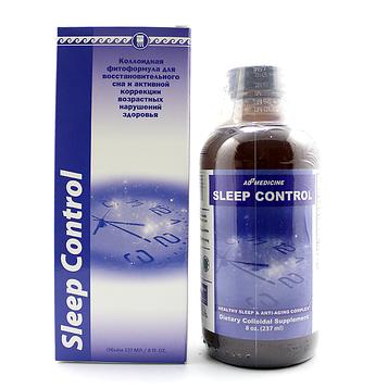 Слип Контрол коллоидная фитоформула Арго США (Фито Мелатонин, нормализация сна, бессонница, иммунитет, невроз)