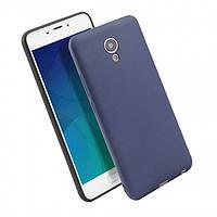 Чехол Soft TPU для Meizu M6 Note Blue (PC-002554)