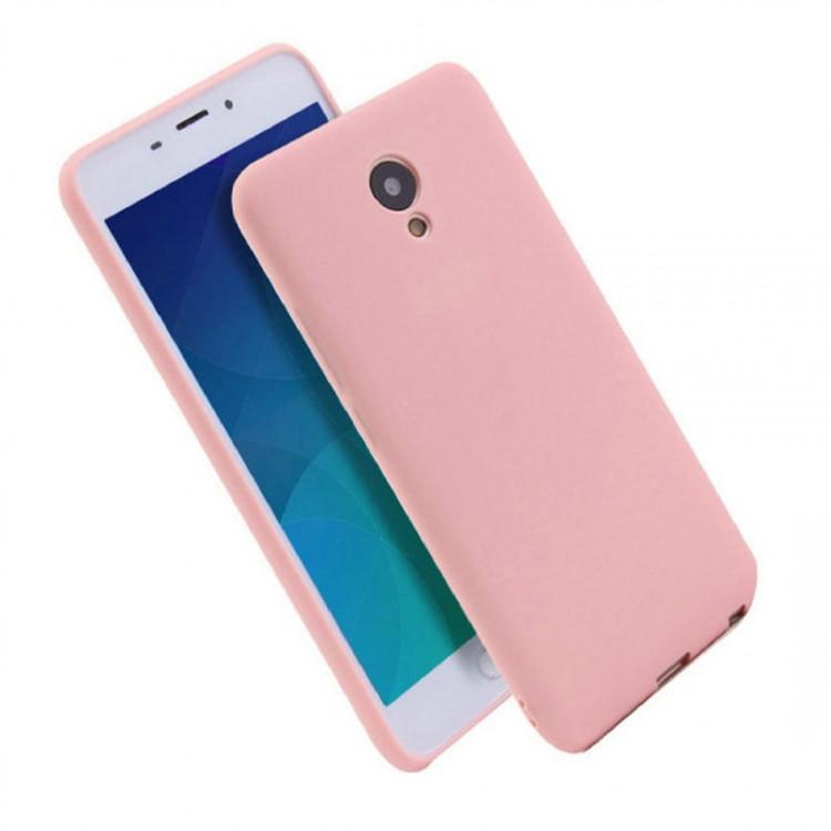 Чехол Soft TPU для Meizu M6 Pink (PC-002548)