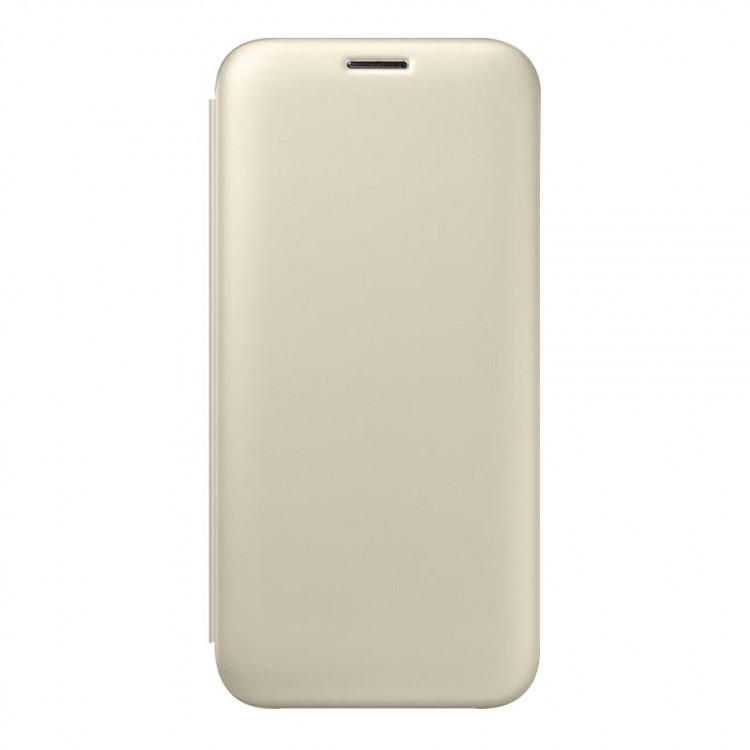Чехол-книжка Silk Shell для Samsung Galaxy J3 2017/J330 Gold (PC-002746)