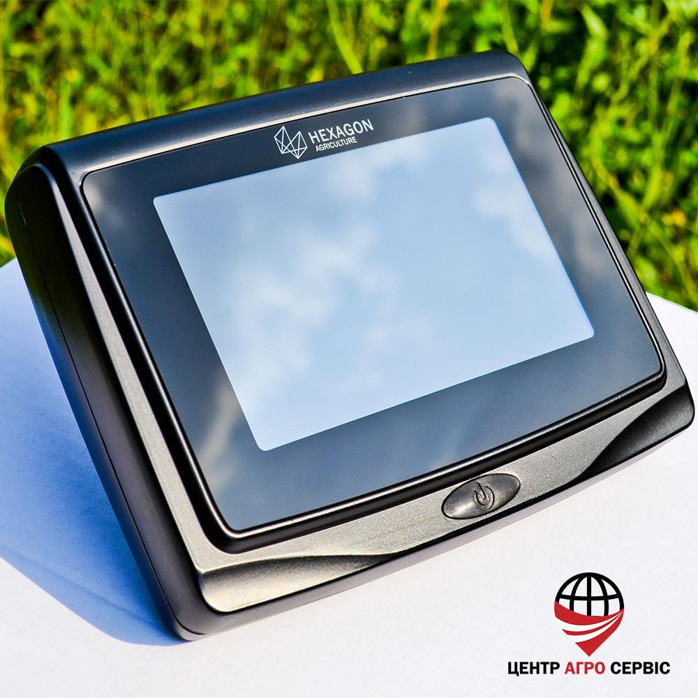 GPS навигатор для трактора, агронавигатор, курсоуказатель, сиcтема параллельного вождения Hexagon Ti5