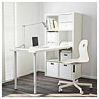 IKEA KALLAX Стол, белый  (591.230.61), фото 2