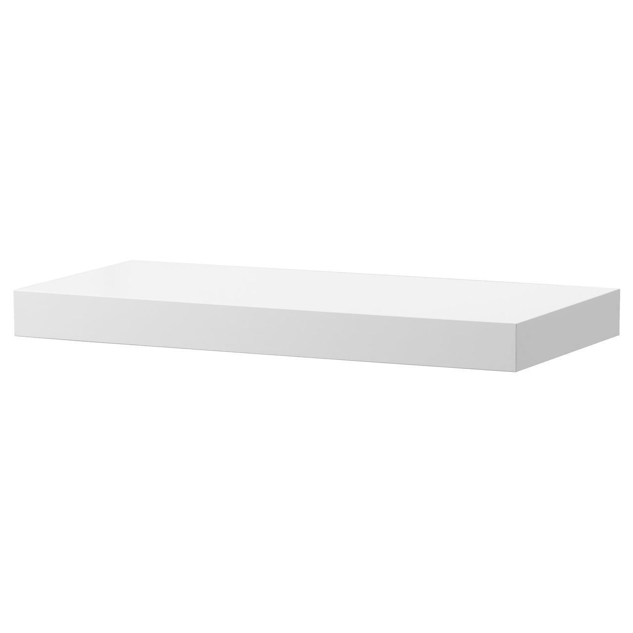 IKEA LACK Настенная полка, белая, глянцевый  (603.096.52)