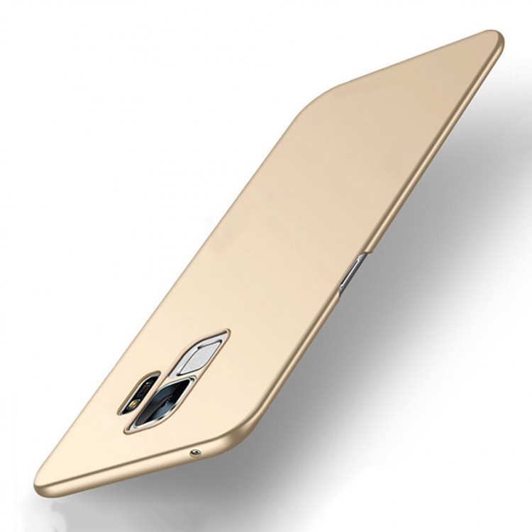 Чехол INCORE Four Edges для Samsung Galaxy A8 2018 Gold (PC-002038)