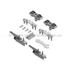 Комплект с врезными планками SF-Roller RA (зазор 3мм) с двуми фиксаторами