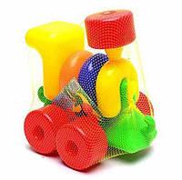 Паровоз-конструктор Toys Plast ИП.01.000 (11037)