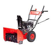 Снегоуборщик бензиновый самоходный, 5.5 л.с./4 кВт, высота/ширина захвата 420/560 мм, передачи 4 вперед/2 назад INTERTOOL SN-5000