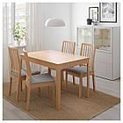 IKEA EKEDALEN Раздвижной стол, дуб  (703.408.12), фото 2