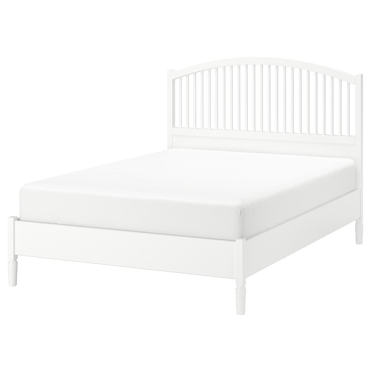 IKEA TYSSEDAL Кровать, белый, Леирсунд  (690.585.88)