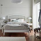 IKEA TYSSEDAL Кровать, белый, Леирсунд  (690.585.88), фото 2