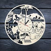 Необычные хендмейд часы в детскую «Король Лев. Симба», фото 1