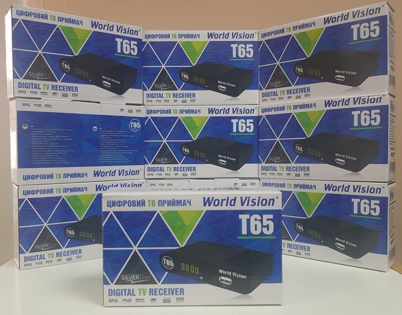 Цифровой эфирный DVB-T2 World Vision T65 приемник тюнер приставка ресивер декодер т2