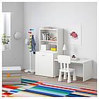 IKEA STUVA/FRITIDS Стол с ящиком для игрушек, белый, белый  (992.796.30), фото 2