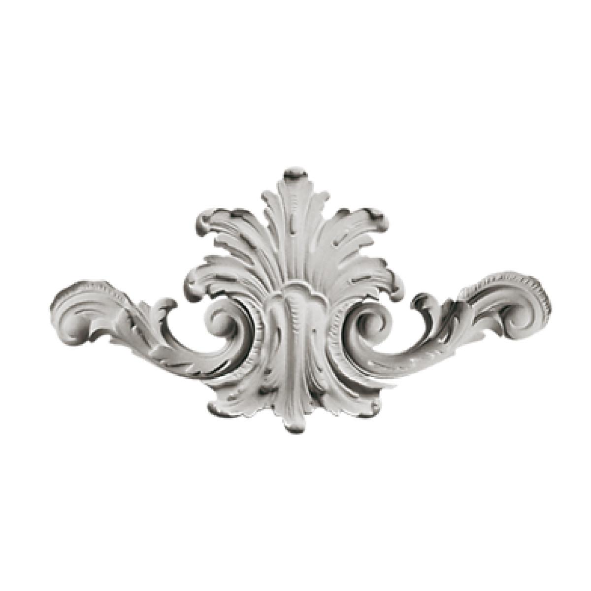 Гипсовая лепнина декоративный угол у-41 h150мм