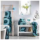 IKEA SANDVILAN Банное полотенце, синий, разноцветный  (804.304.78), фото 2