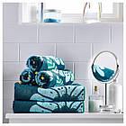 IKEA SANDVILAN Банное полотенце, синий, разноцветный  (804.304.78), фото 4