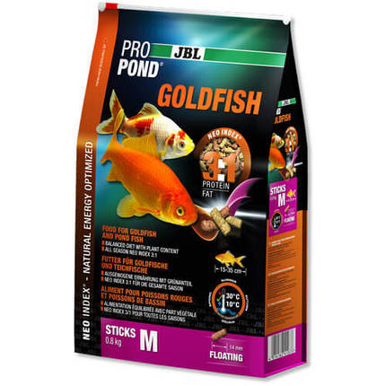 Jbl Propond Goldfish Корм Для Золотых Рыбок И Прудовой Рыбы М, 400 Г, фото 2