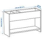 IKEA PAHL Додаткова надставка для столу, білий, зелений (303.064.95), фото 4
