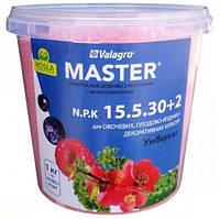 Удобрение Мастер 15-5-30 + 2MgO, 1 кг, Valagro