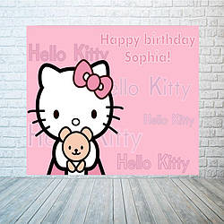 Баннер в стиле Hello Kitty, размер на выбор