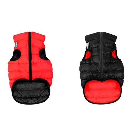 Курточка для собак Collar AiryVest двусторонняя, размер XS 30, красно-черная (йоркширский-терьер, чихуахуа, такса, пудель)