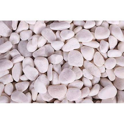Грунт Collar Aqua натуральный Белая галька, 6-8 мм, 20 кг, фото 2