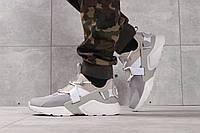 Кроссовки Nike Air Huarache мужские, цвет - серый, в стиле Найк Хуарачи, материал - текстиль, код DO-16371