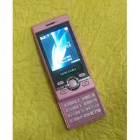Мобильный телефон Samsung W760 Slyder Pink BOCOIN