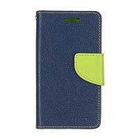 Чехол Book Cover Goospery для Samsung J106/J1 Mini Prime Blue (00000054931)
