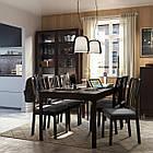 IKEA EKEDALEN Раздвижной стол, темно-коричневый  (203.407.58), фото 9