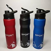 Спортивная бутылка для воды SPORT 500 мл пищевая нержавеющая сталь