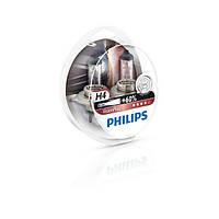 Лампа галогенна Philips H4 VisionPlus, 2шт/блістер (12342VPS2)