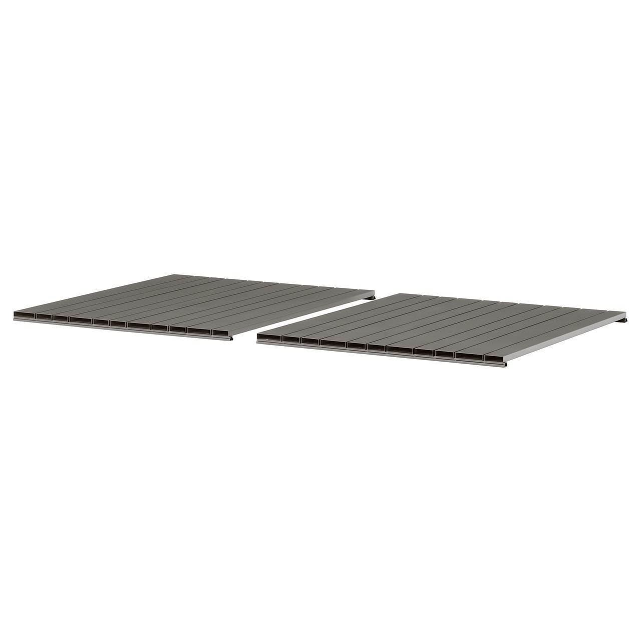 IKEA SJALLAND Столешница для садового стола, темно-серый  (803.865.07)
