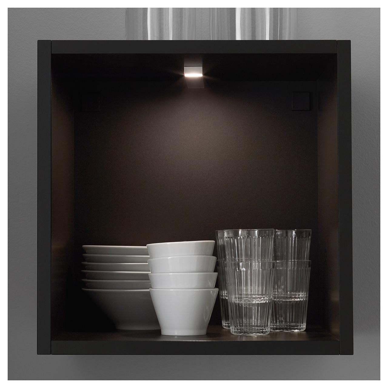 IKEA OMLOPP Світлодіодна підсвітка, срібло (802.453.72)