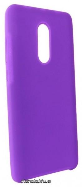Soft Touch TPU силиконовая накладка для Samsung S6 Edge Violet