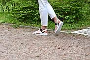 Женские босоножки из натуральной кожи Atomio Lardini, фото 6