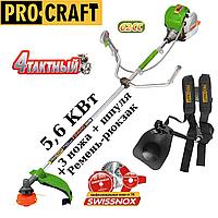 Мотокоса ProCraft T-5600 (четырехтактная) оригинал