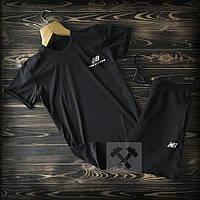 Мужской летний набор футболка+шорты New Balance ST323, Реплика