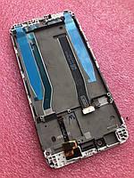 Дисплейный модуль Xiaomi Redmi 4x белый (оригинал) с рамкой