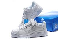 Мужские кроссовки Adidas Forum Low белые