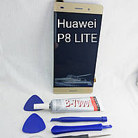 Дисплейный модуль Huawei P8 lite gold 2016, фото 1