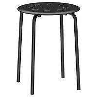 Табурет IKEA MARIUS Черный (101.356.59)