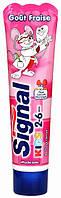 Зубная паста Signal Kids 2-6лет кальций витамин Е 50мл