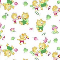 Детская ткань 114811 Фланель (ПАК) Б/З 10-0196 180СМ