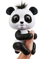 Панда Дрю интерактивная (черная) Fingerlings W3560/3564