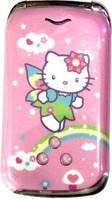 Мобильный телефон W999 Hello Kity pink (раскладушка)