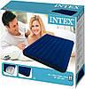 Двухместный надувной матрас Intex 68759 с велюровым покрытием 152х203х22 см, фото 7