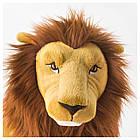 IKEA DJUNGELSKOG Мягкая игрушка, Лев  (204.028.07), фото 3
