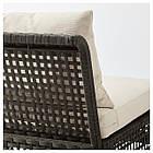 IKEA KUNGSHOLMEN Набор садовой мебели для 4 человек, черно-коричневый, бежевый Холло (690.255.69), фото 5